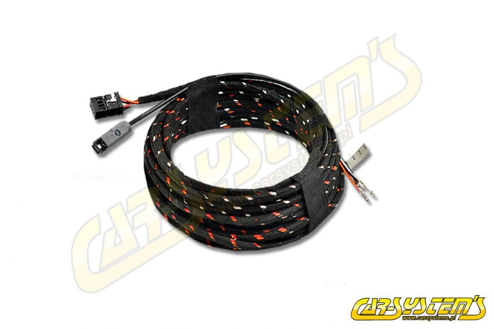 VW Touareg CR7 - High Line Rear View Camera Wiring Harness
