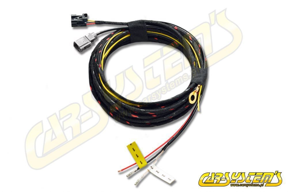 vw touareg cr7 - wiring harness for low line rear view camera 566827566a