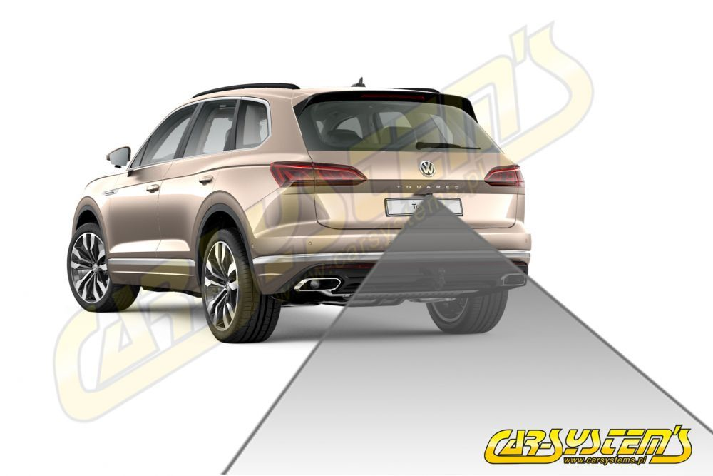VW Touareg CR7 - High Line Rear View Camera KIT With Guidance Lines