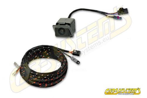 Seat LEON 5F Facelift - High Line Rear View Camera with Guidance Line + wiring harness