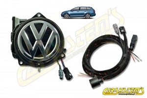 NEW VERSION VW Golf 7.5 Variant 5Q0 5G9 Rear High Line Camera KIT with Guidance Lines - 5G9827469