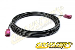 VW / Audi - GSM Fakra Extension Cable 5.5m - Triplex Antenna