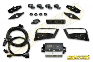 SEAT ATECA KH7 - Park Pilot Front w. OPS - 5Q0919294 - UPGRADE KIT black gloss