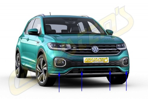 New VW T-CROSS  -> Park Pilot Front & Rear with OPS - 5QA919294B - UPGRADE KIT