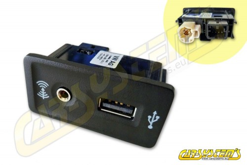 MEDIA - IN MDI - Golf 7 5Q - USB and AUX-IN Socket 5G0035222C