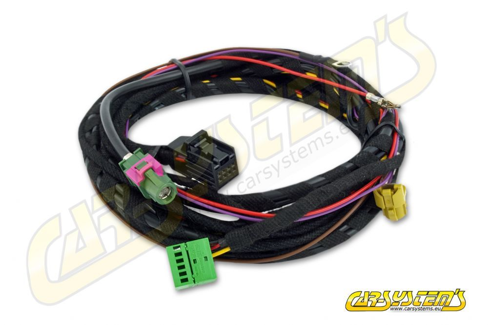 AMI - Audi Music Interface - 8 PIN Wiring Harness AUX-IN and USB
