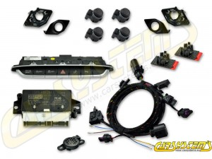 Audi TT 8S LIFT - APS+ Audi Parking System - Front UPGRADE KIT w. OPS - For LHD
