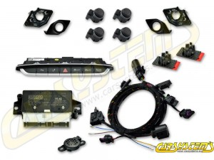 Audi TT 8S LIFT - APS+ Audi Parking System - Front UPGRADE KIT w. OPS - For RHD