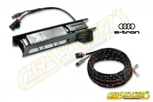Audi E-Tron - High Line Rear View Camera Kit With Guidance Lines - High Resolution