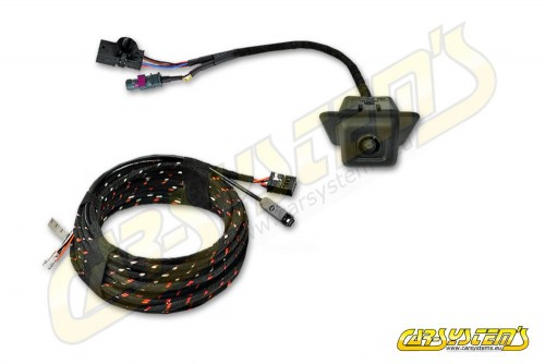 New VW Transporter / Multivan T6.1 - High Line Rear View Camera with Guidance Line + wiring harness