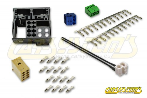 VW AUDI SKODA SEAT - Radio Quadlock 2 gen - Repair Kit RCD, RNS - with terminals