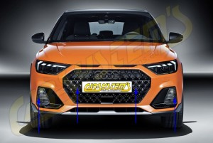 Audi A1 GB Citycarver - APS+ Audi Parking System - Front Retrofit