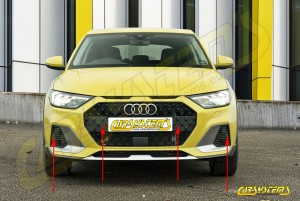 Audi A1 GB Citycarver - APS+ Audi Parking System - Front and Rear Retrofit