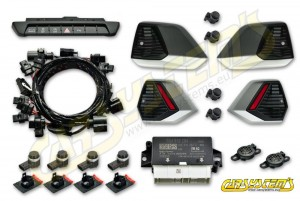 Audi A1 GB Citycarver - APS+ Audi Parking System - Front and Rear Retrofit - 5QA919294B