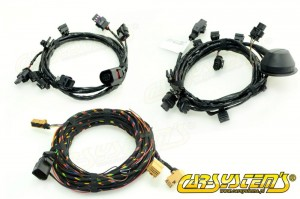 VW  Passat B7 - Park Pilot Front and Rear w. OPS - Wire Harness