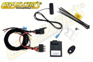 VW Transporter T5 without AC / Climatic - Telestart T91 Upgrade KIT - Engine Heater -> Parking Heater - 9012104D