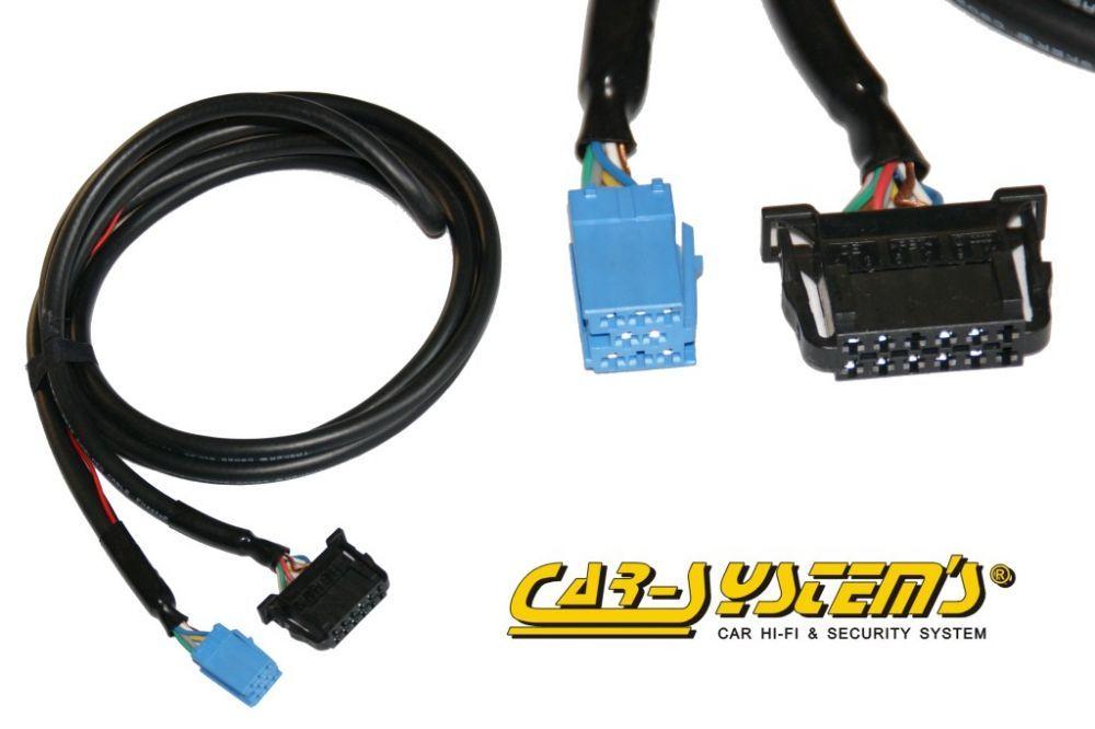 Wiring for VW / Audi CD-changer 1.8m MINI ISO