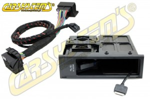 VW MEDIA-IN BOX - MDI KIT for cars with AUX input + iPOD adapter - Retrofit - 5N0035341F