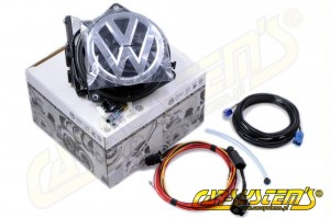 VW Rear Emblem Camera KIT - Retrofit - Golf MK 7 VII - 5G0827469C