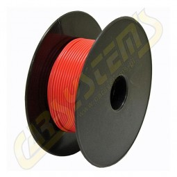 Single Core Car Cable -  Cord - PVC - 0.35 mm² - Red Color - 100m