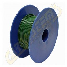Single Core Car Cable -  Cord - PVC - 0.35 mm² - Green Color - 100m