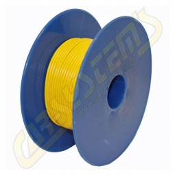 Single Core Car Cable -  Cord - PVC - 0.35 mm² - Yellow Color - 100m
