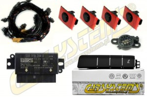 NEW VW Golf 7 SV Sportsvan - Park Pilot Front w. OPS - 5Q0919294F - UPGRADE KIT - LHD