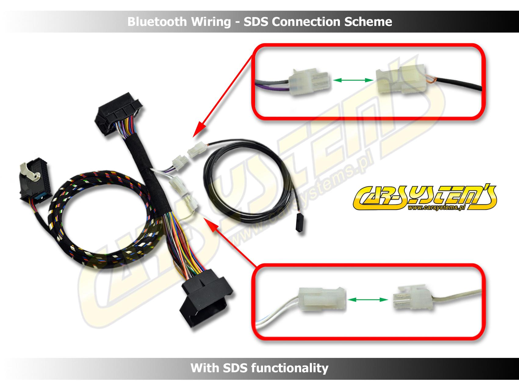 audi bluetooth sds wiring a3 a4 rns e concert 8p1862335. Black Bedroom Furniture Sets. Home Design Ideas
